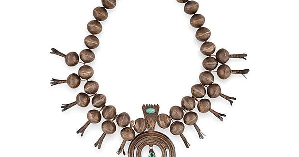 Navajo squash blossom necklace purchased in taos new for Turquoise jewelry taos new mexico