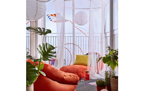 bussan fauteuil poire int rieur ext rieur orange ikea terrasse pinterest balconies. Black Bedroom Furniture Sets. Home Design Ideas