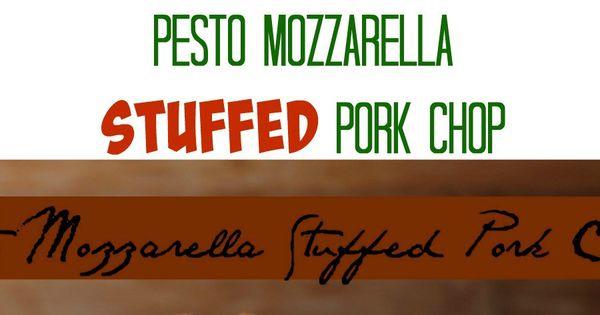 Stuffed pork chops, Stuffed pork and Pork chops on Pinterest