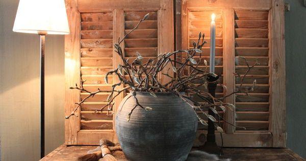 Oude luiken deco style pinterest oude luiken luiken en takken - Oude huisdecoratie ...