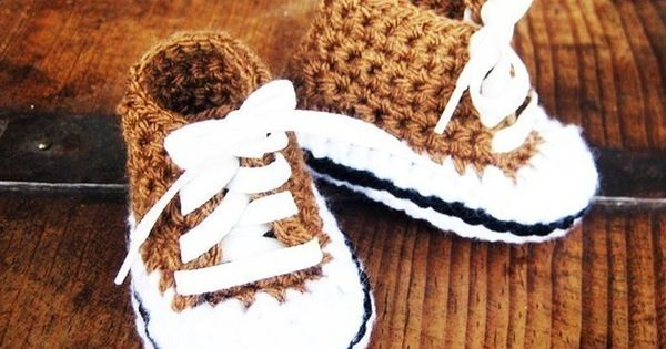 Zapatitos PDF Pattern crochet baby shoes pattern