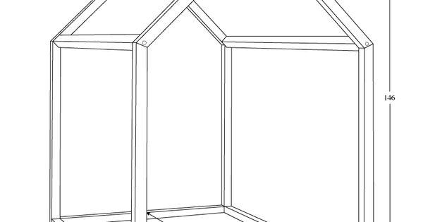 bonnesoeurs design lit maison dimensions enfants pinterest maison design et lits. Black Bedroom Furniture Sets. Home Design Ideas