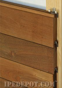 Ipe Siding Ipedepot Com Your Direct Source For Ipe Decking Wood Siding Exterior Ipe Wood House Cladding
