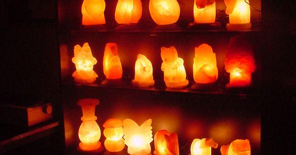 How Salt Lamps Improve Mental Clarity And Sleep Cycles : Salt Lamps Lighting! Pinterest Salt rock lamp, Rock lamp and Glass lights