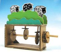 Mechanical Toys Com Toys From Trash Wood Toys Paper Toys