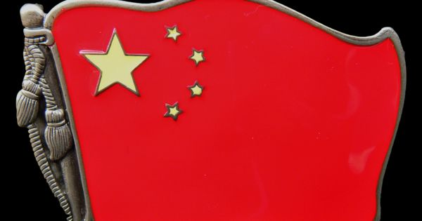 stars on the chinese flag