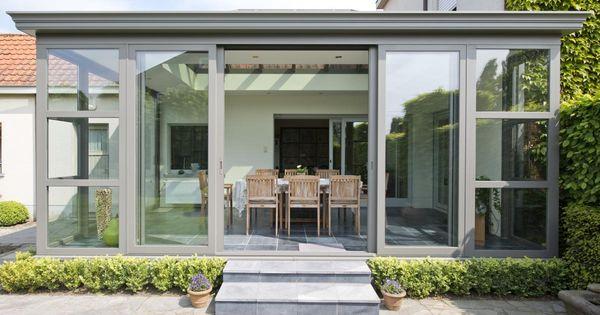 De ruime praktische opening maakt de veranda zeer for Idee di veranda laterale