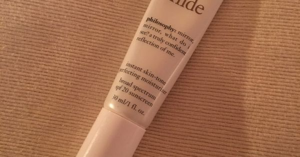 No Reason To Hide Instant Skin-Tone Perfecting Moisturizer by philosophy #16