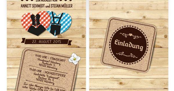 Hochzeitskarten   Bayern Herzen | Einladung Hochzeit | Pinterest |  Hochzeitskarten, Herzen And Bayern