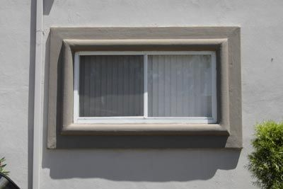 How to add exterior window trim on stucco stucco window - Best wood for exterior window trim ...