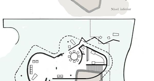 Casa das canoas plans oscar niemeyer architecture for Oscar plans