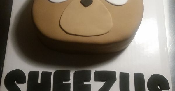 Kanye West Bear Cake I Made For My Daughter S 16th