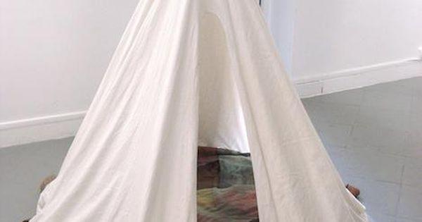 Pretty tent idea