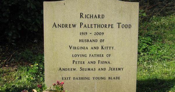 Richard Todd - Irish-born British stage and film actor and ...