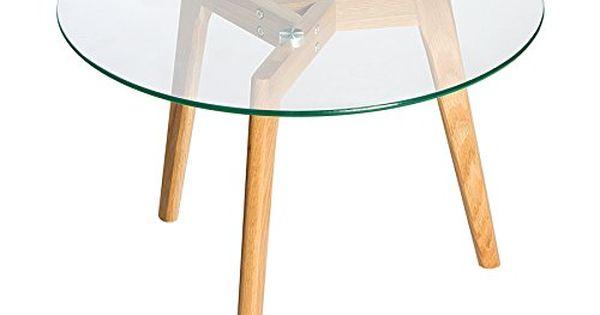 echt eiche couchtisch scandinavian oak edelstahl glas beistelltisch tisch holztisch glasplatte beistelltisch eiche pinterest living products - Glasbeistelltisch