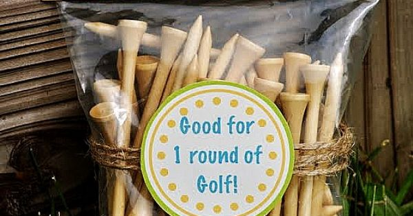 Fathers Day idea or birthday idea for the golfer in your family