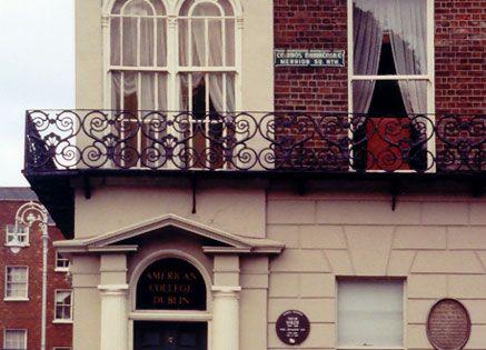 DUBLIN, IRELAND l Oscar Wilde, one of Dublin's most famous sons, lived