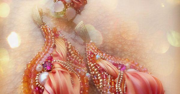 Shibori, Embroidery and Silk on Pinterest