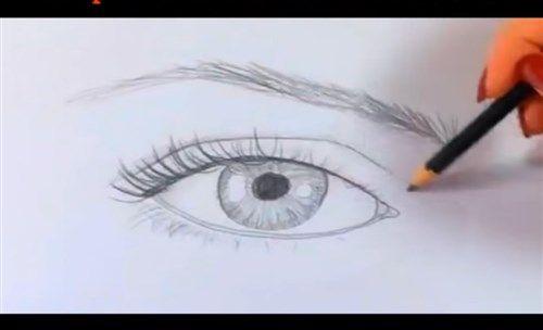 Paso 7 Para Aprender A Dibujar Ojos Realistas Como Aprender A Dibujar Aprender A Dibujar Dibujos Realistas