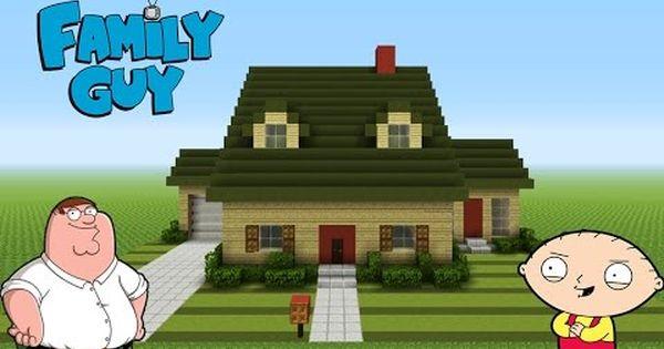 Family Guy House Minecraft Minecraft Minecraft Projects Minecraft Architecture