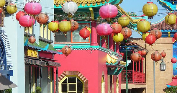 Chinatown - Los Angeles. This is such a fun, colorful neighborhood for