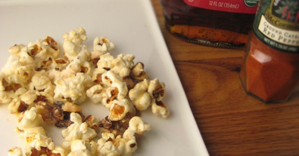 Spicy Maple-Cashew Popcorn from Cooking Light | { Superbowl ...