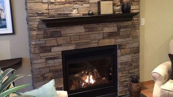 Fireplace Plum Creek Ledgestone Versetta Stone 174 Brand