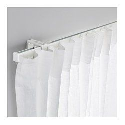 Vidga Single Track Rail White 55 Ikea Cool Curtains Ikea