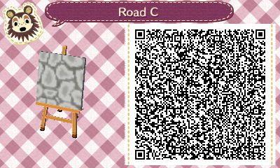 Cobblestone Pathing By U Dracyoshi Animal Crossing Qr Animal Crossing Acnl Paths