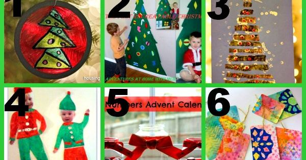 Here are 12 great Christmas crafts for you and your child to