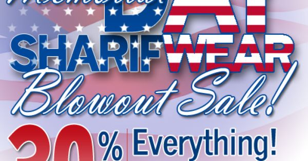 memorial day sales on clothing