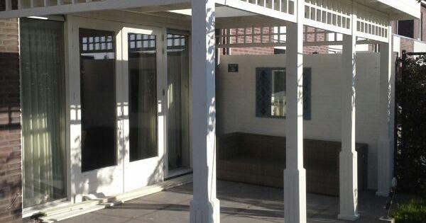 Strak landelijke stijl een plaatje om te zien kijk op tevens - Smeedijzeren pergola voor terras ...