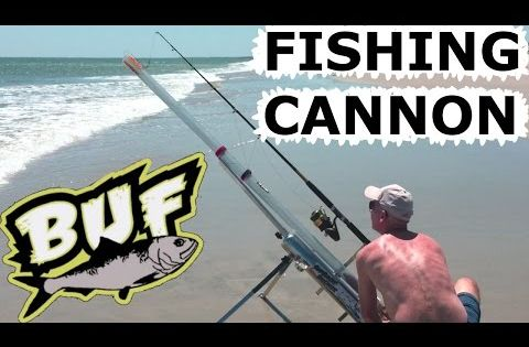 Beach fishing cannon bait caster 300 yard casting offshore for Bunker up fishing