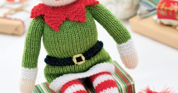 Elf Knitting Hearts : Knitted bernad the elf free knitting pattern you will