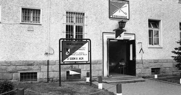 Bad Hersfeld Germany 3rd Squadron 11th Acr Headquarters