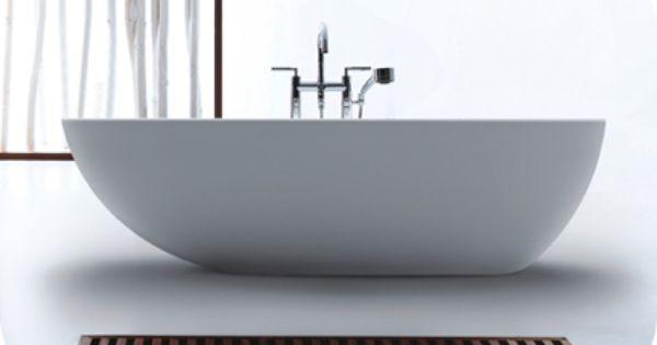 Cast stone freestanding bath tub 71 resin limestone for Limestone tub