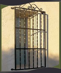 Iron Security Window Guards Security Bars Phoenix Arizona Window Security Bars Window Security Burglar Bars