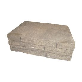 Ledgewall Arcadian Retaining Wall Block Common 4 In X 12 In Actual 4 In X 12 In At Lowes Com Retaining Wall Block Concrete Retaining Walls Retaining Wall