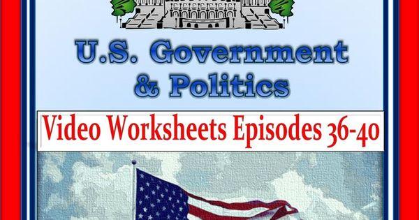 crash course u s government worksheets episodes 36 40. Black Bedroom Furniture Sets. Home Design Ideas