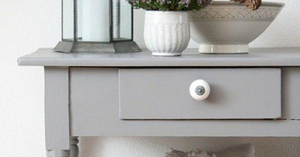 Mooie sidetable sidetables pinterest huis decoraties opslagruimten en kasten - Decoratie new england ...