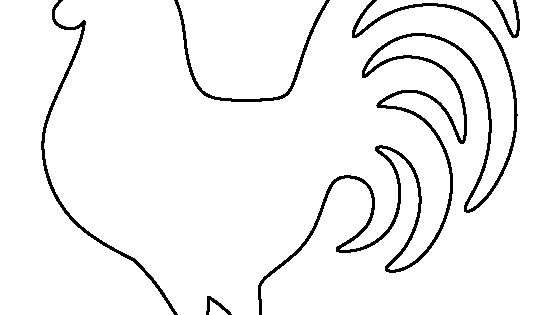 Magic image with regard to rooster template printable