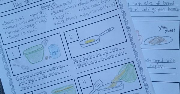 Procedural Writing - Step-by-Step. Great way for students to evaluate real-world procedural