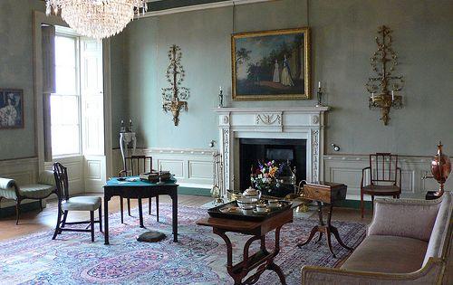 Georgian house charlotte square edinburgh sitting room for Interior design agency edinburgh