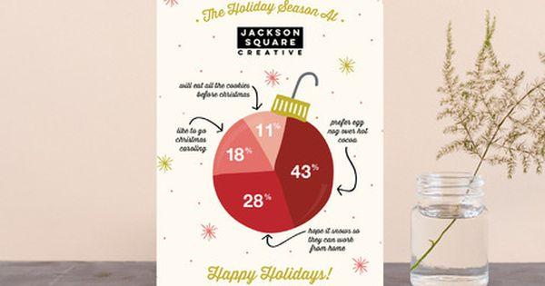 Infographic Ornament Business Holiday Cards By Beth Schneider At Minted Com Weihnachtskarten Karten Und Weihnachten