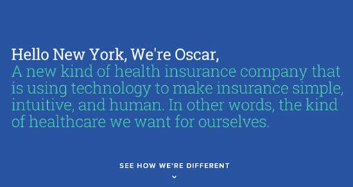 Customer Experience Why I Signed Up For Oscar Health Insurance With Images Health Insurance Companies Health Insurance Health
