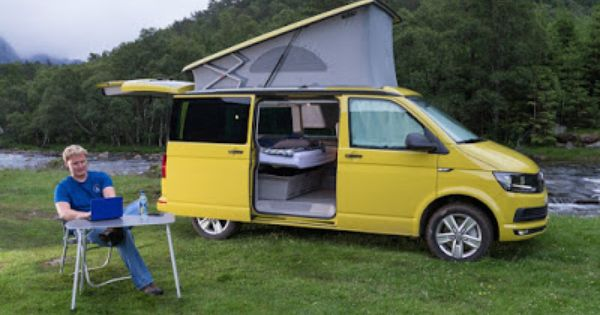 campingbus vw t6 california beach mit schlafdach http. Black Bedroom Furniture Sets. Home Design Ideas