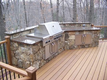 Built In Grill On Deck Built In Grill Patio Outdoor Grill