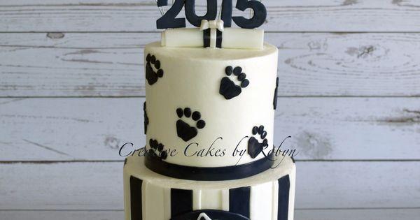 Penn State Wedding Gifts: Penn State Graduation Cake