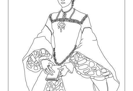 tula elizabeth coloring pages - photo#40
