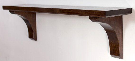 Wall Mounted Shelf Craftsman Style 24 Inch Com Imagens Molduras Janelas Moveis